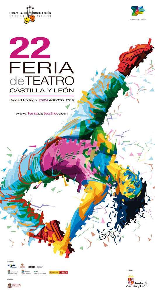 Cartel 22 Feria de Teatro de Castilla y León